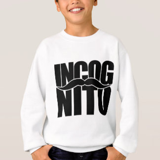 Incognito髭 スウェットシャツ