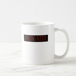 INCOGNITO コーヒーマグカップ