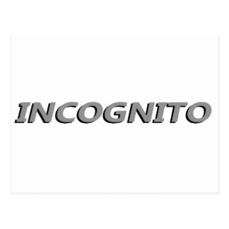 Incognito ポストカード