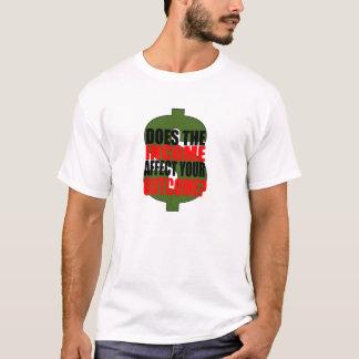 INCOME-OUTCOMEのTシャツ Tシャツ