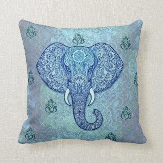 India lord-Ganesh-Elephant art クッション