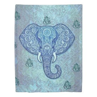 India lord-Ganesh-Elephant art 掛け布団カバー
