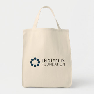 Indieflixの基礎食料雑貨のトートバック トートバッグ