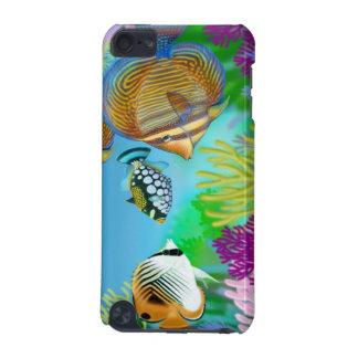 Indo太平洋礁の魚のSpeckの場合 iPod Touch 5G ケース