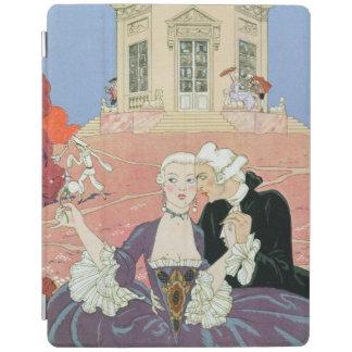 Indolentsの「祝日Galantesのためのイラストレーション iPadスマートカバー