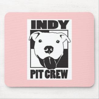 Indyのピット・クルーのガーリーなマウスパッド マウスパッド