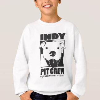 Indyのピット・クルーの役人のロゴ スウェットシャツ