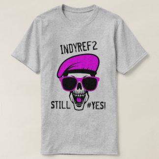 IndyRef2スカル Tシャツ