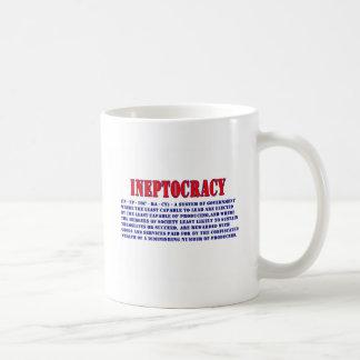 INEPTOCRACY定義 コーヒーマグカップ