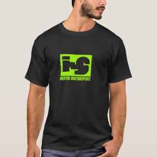 inertiaMS - NEWSCHOOLのロゴの暗闇のティー Tシャツ