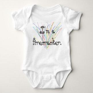 Infactワンピースの7月4日のボディスーツのワンピースの赤ん坊 ベビーボディスーツ