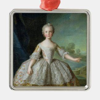 InfantaイサベルdeフルホンParme 1749年 メタルオーナメント