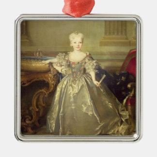 Infantaマリアアナビクトリアde Borbonn 1724年(油 メタルオーナメント