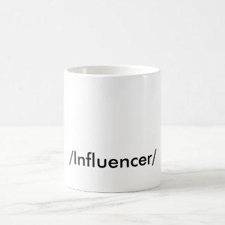 """「INFLUENCER """" コーヒーマグカップ"""