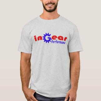 Ingearの性能の競争のチームTシャツ Tシャツ