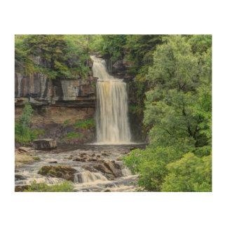 Ingletonの滝 ウッドウォールアート
