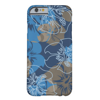 Inikiポイントハワイのハイビスカスの花柄 Barely There iPhone 6 ケース