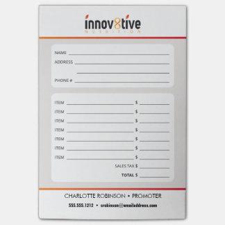 Innov8tiveの栄養物 ポストイット