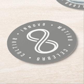 Innov8tive ラウンドペーパーコースター