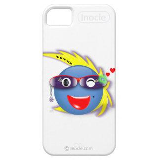 InoのまばたきのスナップのカスタムなiPhone 5/5Sの場合(白い) iPhone SE/5/5s ケース
