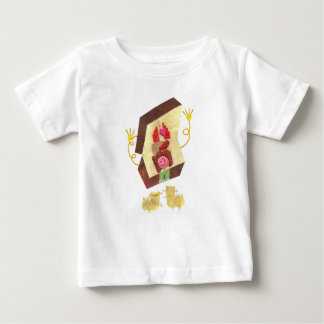 Inside-out Man Infant T-Shirt氏 ベビーTシャツ