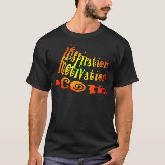 InspirationMotivation.comのTシャツの激しくか数々のなプリント Tシャツ