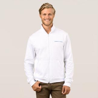 INSPIRE~BASICのジッパーのフリースのジョガーのジャケットにインスパイア ジャケット