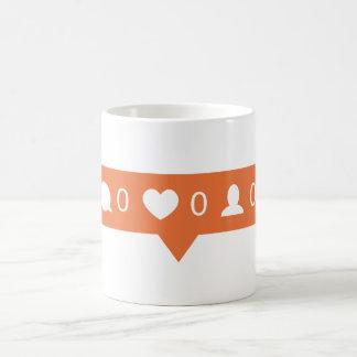 Instagramのマグ コーヒーマグカップ