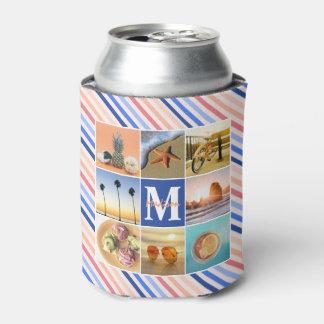 Instagramのリラックスさせるな夏季休暇の写真の格子 缶クーラー