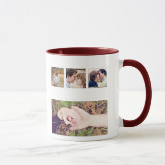 instagramの写真のコラージュのマグ マグカップ