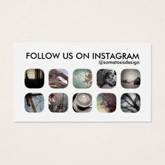 instagramの従節 名刺
