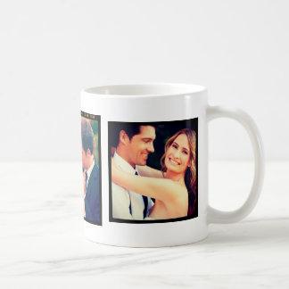 Instagramの結婚式の写真のマグ コーヒーマグカップ