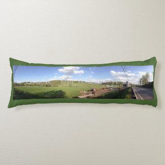 Instagramの2パノラマ式の写真のカスタムの抱き枕 抱き枕