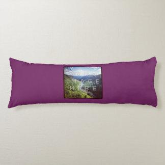Instagramの2写真のすみれ色のカスタムな抱き枕 抱き枕