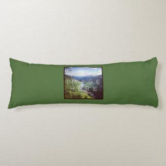 Instagramの2写真の緑のカスタムの抱き枕 抱き枕