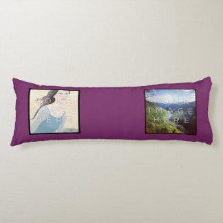 Instagramの4写真のすみれ色のカスタムな抱き枕 抱き枕