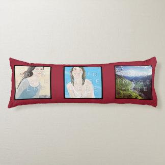 Instagramの6写真の赤くカスタムな抱き枕 抱き枕