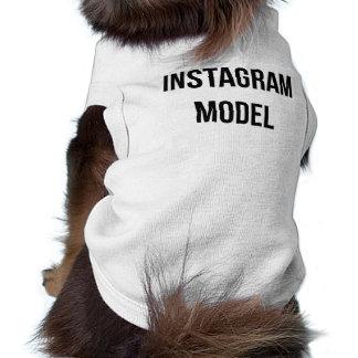 """""""Instagramモデル""""犬のワイシャツ ペット服"""