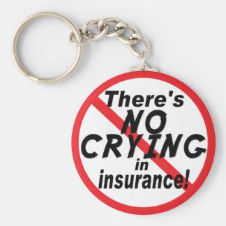 Insurance.pngの泣き叫び無し キーホルダー