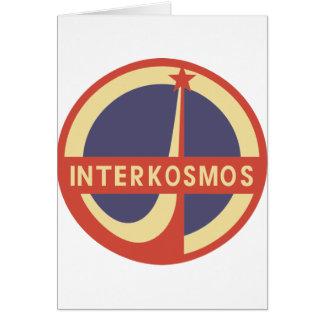 Interkosmos カード