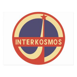 Interkosmos ポストカード
