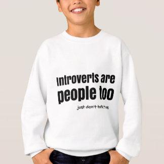 introverts人々(a)です スウェットシャツ
