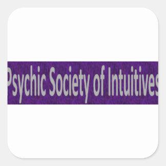 Intuitivesの店の霊魂の社会 スクエアシール
