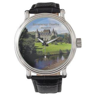 Inverarayの城-一族キャンベル 腕時計