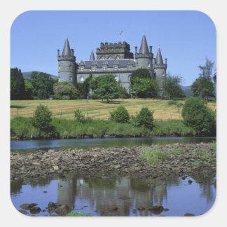 Inveraryの城、Strathclyde、スコットランド スクエアシール