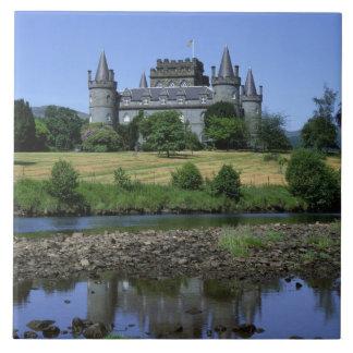 Inveraryの城、Strathclyde、スコットランド タイル