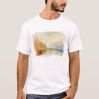 Inverary桟橋、湖Fyne、朝、c.1840-50 (油 Tシャツ