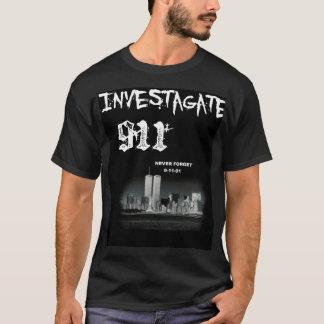 Investagate 911 tシャツ