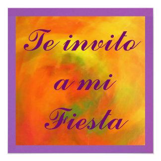 Invitación - Teのinvito miのフェスタ カード