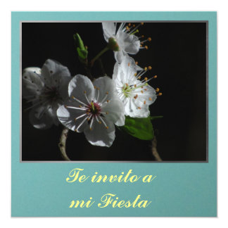 Invitación - Teのinvito miのフェスタ-フローレス島 カード